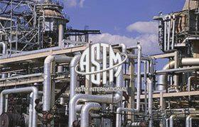 استانداردهای نفت و گاز ASTM